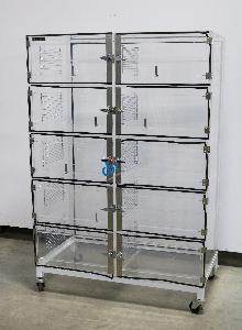 TERRA UNIVERSAL TEN COMPARTMENT DESICCATOR BOX