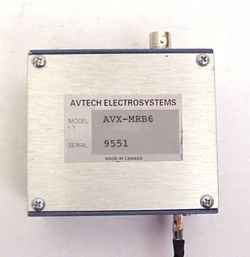 AVTECH IMPEDANCE MATCHING PULSE TRANSFORMER